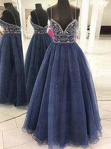 2018 Cheap Prom Dress A-line Simple Modest African Beautiful Long Prom Dress # VB1369 - DemiDress.com