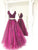 Two Piece Prom Dress A-line Simple Cheap Beautiful Vintage Long Prom Dress # VB1371