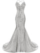 Mermaid Prom Dress Simple Modest Elegant Simple Cheap Lace Long Prom Dress #VB1441