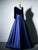 Chic A Line Prom Dress Simple Modest Elegant Cheap Long V Neck Prom Dress #VB1448