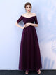 Chic A Line Prom Dress Simple Modest Elegant Cheap Long Prom Dress #VB1451