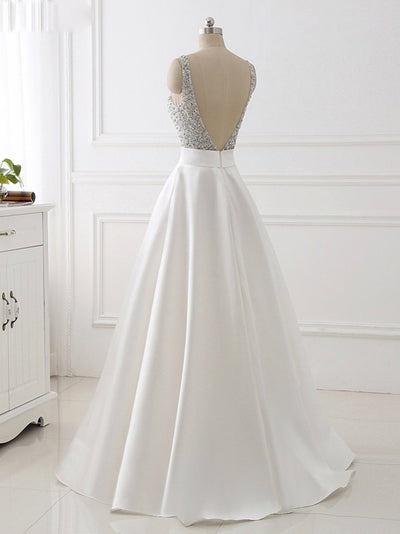 2018 Long Prom Dress Simple Modest Elegant African Cheap Prom Dress # VB1465 - DemiDress.com