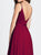 Chic A Line Red Prom Dress Simple Modest Elegant Cheap Long Chiffon Prom Dress #VB1520