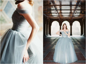 Chic Long Prom Dress Simple Modest Elegant Straps A Line Cheap Prom Dress #VB1522