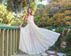 Chic Chiffon Prom Dress Simple Modest Elegant Simple Cheap Long Lace Prom Dress #VB1527