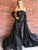 2018 Chic Black Prom Dress Simple Modest Long Lace Sheath Prom Dress #VB1544 - DemiDress.com