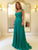 Burgundy Prom Dress Simple Modest A Line Cheap Long Prom Dress #VB1543