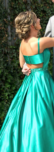 Chic A Line Prom Dress Simple Modest Long Cheap Simple Prom Dress #VB1561