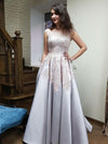 Chic A Line Prom Dress Modest  Simple Cheap Long Prom Dress #VB1597