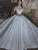 Ball Gown Wedding Dress Off The Shoulder Plus Size Lace Vintage Wedding Dress # VB1604