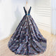 Unique A Line Prom Dress Modest Beautiful Plus Size Long Prom Dress #VB1606