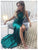 Green Prom Dress Modest Beautiful Cheap Long Prom Dress #VB1625