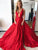 2018 A Line Prom Dress Modest Beautiful Red Cheap Long Prom Dress #VB1630 - DemiDress.com