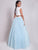 2018 Two Piece Prom Dress Modest Beautiful Cheap Long Prom Dress #VB1643 - DemiDress.com