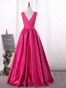 2018 A Line Prom Dress Modest Beautiful Hunter Cheap Long Prom Dress #VB1649 - DemiDress.com