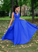Chic A Line Chiffon Prom Dress Modest Beautiful Cheap Long Prom Dress #VB1652