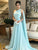 Chic A Line Chiffon Prom Dress Modest Beautiful Cheap Long Prom Dress #VB1654