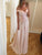 2018 A Line Prom Dress Modest Beautiful Pink Cheap Long Prom Dress #VB1662 - DemiDress.com