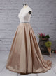 Chic Lace Prom Dress Modest A Line Cheap Long Prom Dress #VB1698