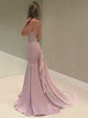 Chic Mermaid Pink Prom Dress Modest Cheap Long Prom Dress #VB1706