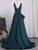 V Neck Prom Dress Modest Cheap Simple Long Prom Dress #VB1717
