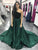 A Line Hunter Prom Dress Modest Cheap Long Simple Prom Dress #VB1733