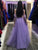 A Line Tulle Prom Dress Modest Cheap Long Simple Prom Dress #VB1738