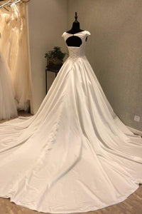 2018 Chic Vintage Prom Dress Modest Cheap Simple Long Prom Dress #VB1809 - DemiDress.com