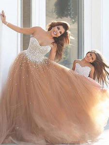 Chic A Line Prom Dress Modest Beautiful Cheap Long Prom Dress #VB1841
