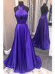 Chic A Line Prom Dress Modest Cheap Simple Long Prom Dress #VB1916