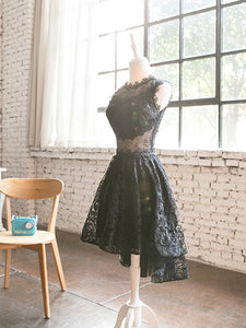 2018 Lace Homecoming Dress Simple Cheap Homecoming Dress # VB2007 - DemiDress.com