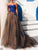 Chic A Line Prom Dress Modest Cheap Lace Long Prom Dress #VB2034