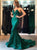 Mermaid Hunter Prom Dress Modest Cheap Long Prom Dress #VB2037