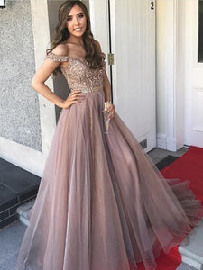 2018 Chic A Line Prom Dress Modest Cheap Long Prom Dress #VB2050 - DemiDress.com