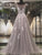 2018 Chic A Line Prom Dress Silver Cheap Long Prom Dress #VB2069 - DemiDress.com