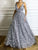 2018 Chic A Line Prom Dress Silver Cheap Long Prom Dress #VB2076 - DemiDress.com