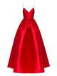 2018 Chic A Line Prom Dress Red Cheap Long Prom Dress #VB2083 - DemiDress.com