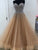 2018 A Line Prom Dress Plus Size Tulle Long Prom Dress #VB2090 - DemiDress.com