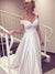 2018  Off The Shoulder Wedding Dress Cheap Ivory Wedding Dress # VB2093