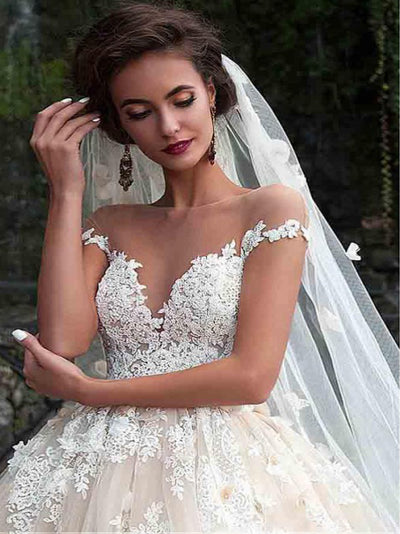 53597183923 2018 Off The Shoulder Wedding Dress Cheap Ivory Wedding Dress ...