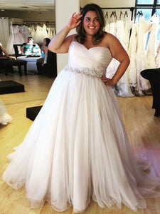 2018 Plus Size Wedding Dress Cheap Ivory Wedding Dress # VB2153 - DemiDress.com