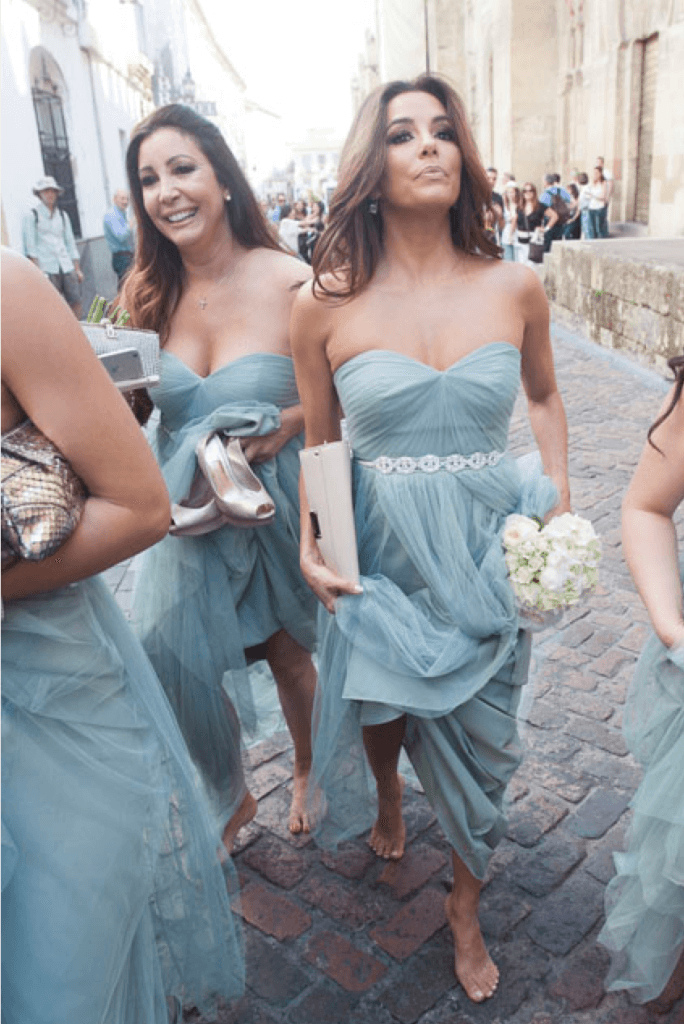 Chic Tulle Bridesmaid Dresses Cheap Long Bridesmaid Dresses # VB2197