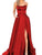 Red Party Prom Dress Club Wear Cheap Long Prom Dress #VB2240