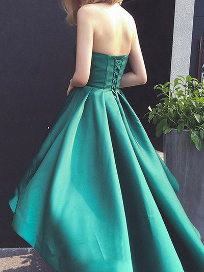 2018 Green Prom Dress Party Wear Cheap Long Prom Dress #VB2248 - DemiDress.com