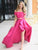 2018 Two Piece Prom Dress Off The Shoulder Long Prom Dress #VB2296 - DemiDress.com