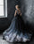 2018 Vintage Prom Dress Black Tulle Long Prom Dress #VB2302