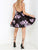 Floral Homecoming Dress Party Homecoming Dress #VB2322