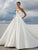 Vintage Ivory Wedding Dress Simple Beautiful Wedding Dress # VB2325
