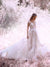 Vintage Ivory Wedding Dress Lace Beautiful Wedding Dress # VB2336