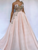 Vintage Pink Wedding Dress Cheap One Shoulder Wedding Dress # VB2340